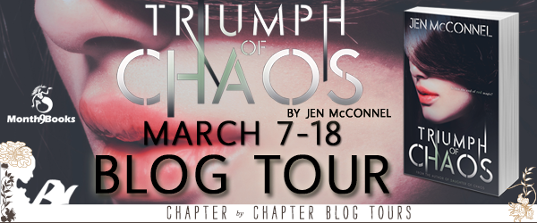 triumph of chaos blog tour banner