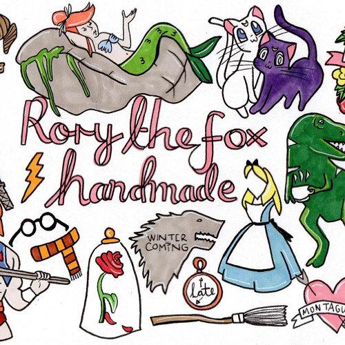 RoryTheFoxHandmade logo