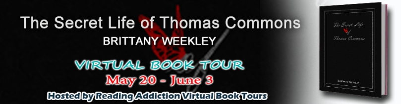 The Secret Life of Thomas Commons blog tour banner