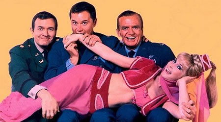 i dream of jeannie main cast