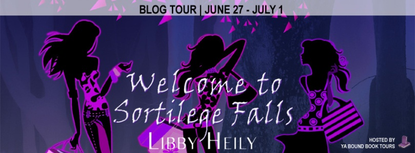 Welcome to Sortilege Falls tour banner