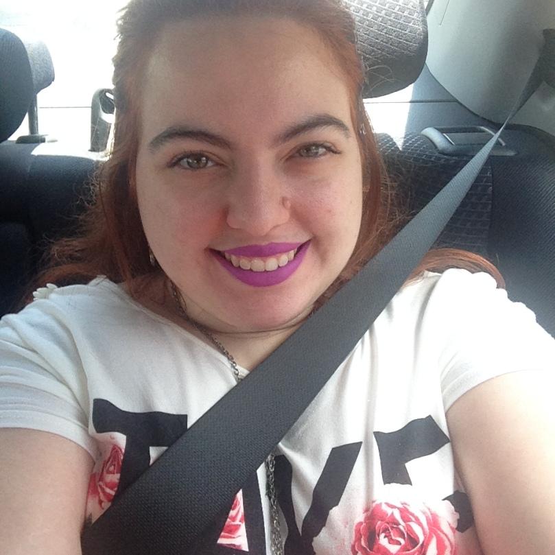anne panda wearing her fave lipstick.JPG